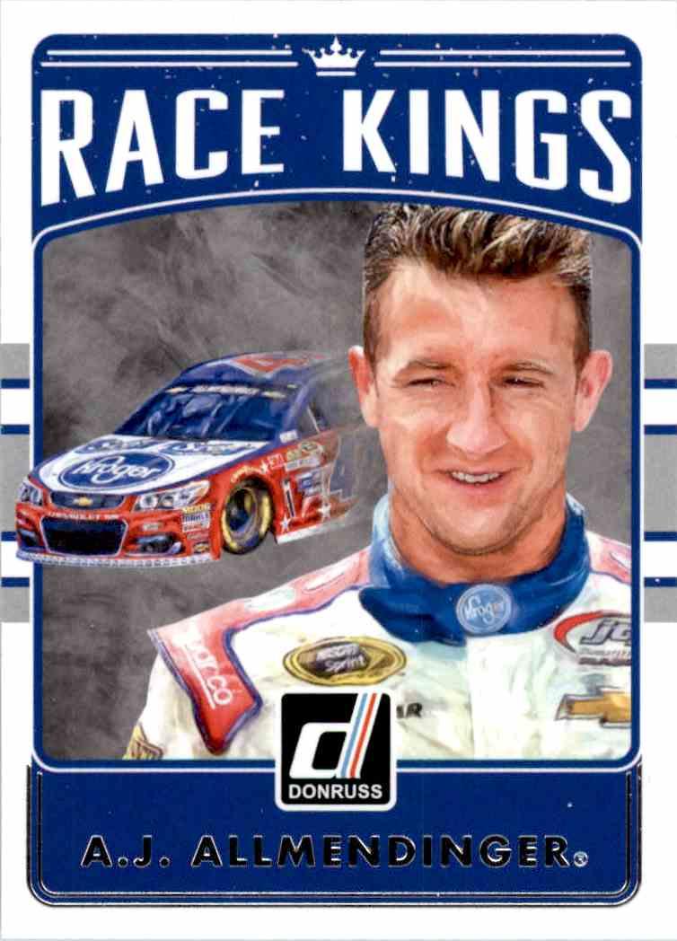 2017 Panini Donruss Racing A.J. Allmendinger #26 card front image