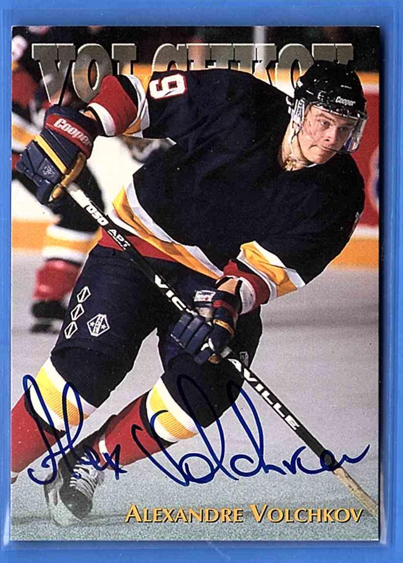 1997-98 Score Board Alexander Volchkov card front image