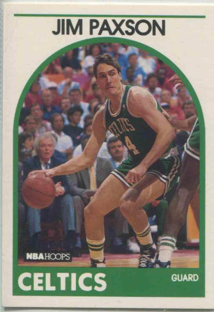 1989 90 NBA Hoops Jim Paxson 18 on Kronozio