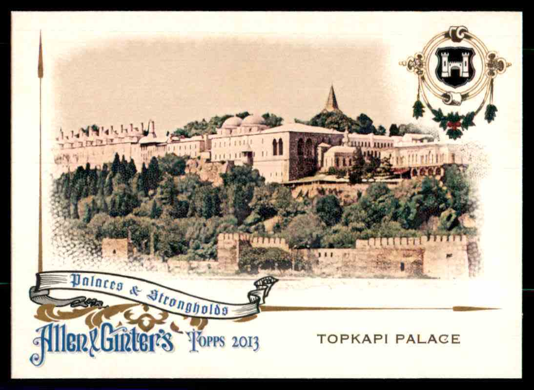 2013 Topps Allen And Ginter Palaces And Strongholds Topkapi Palace #TP card front image