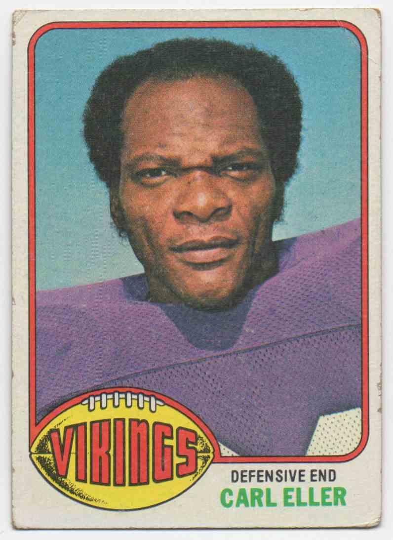 1976 Topps Carl Eller #105 card front image