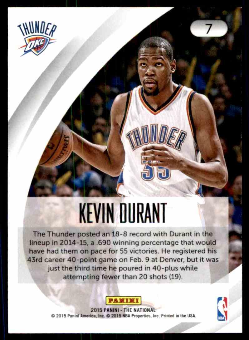 size 40 380b8 ed9c7 2015-16 Panini Kevin Durant on Kronozio