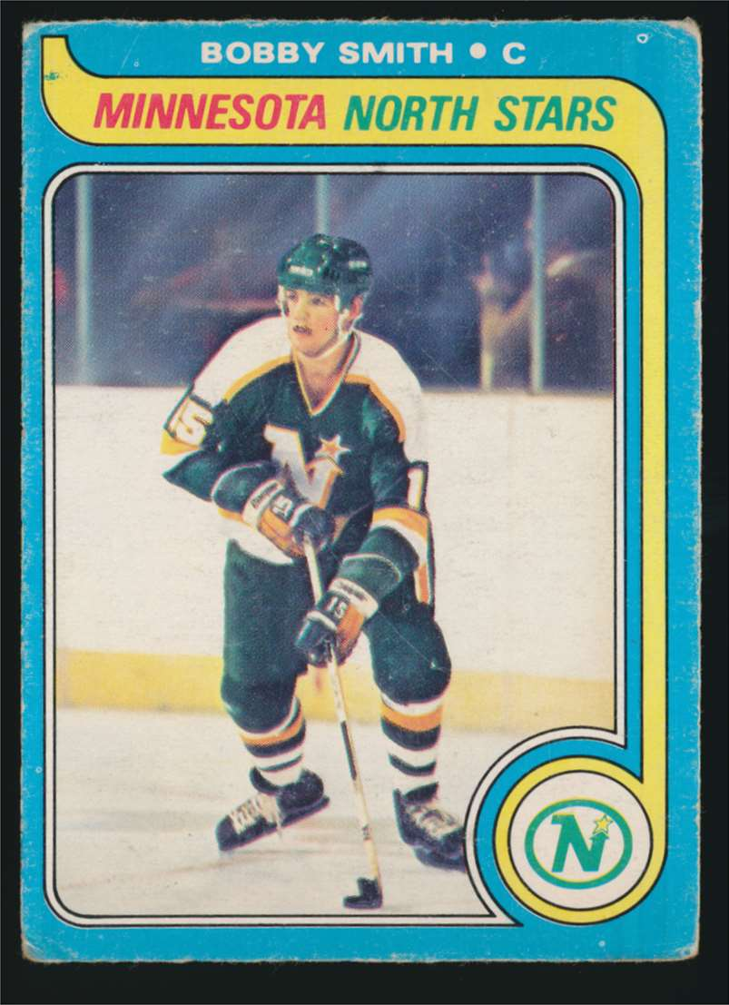 1979-80 OPC Bobby Smith #206 card front image