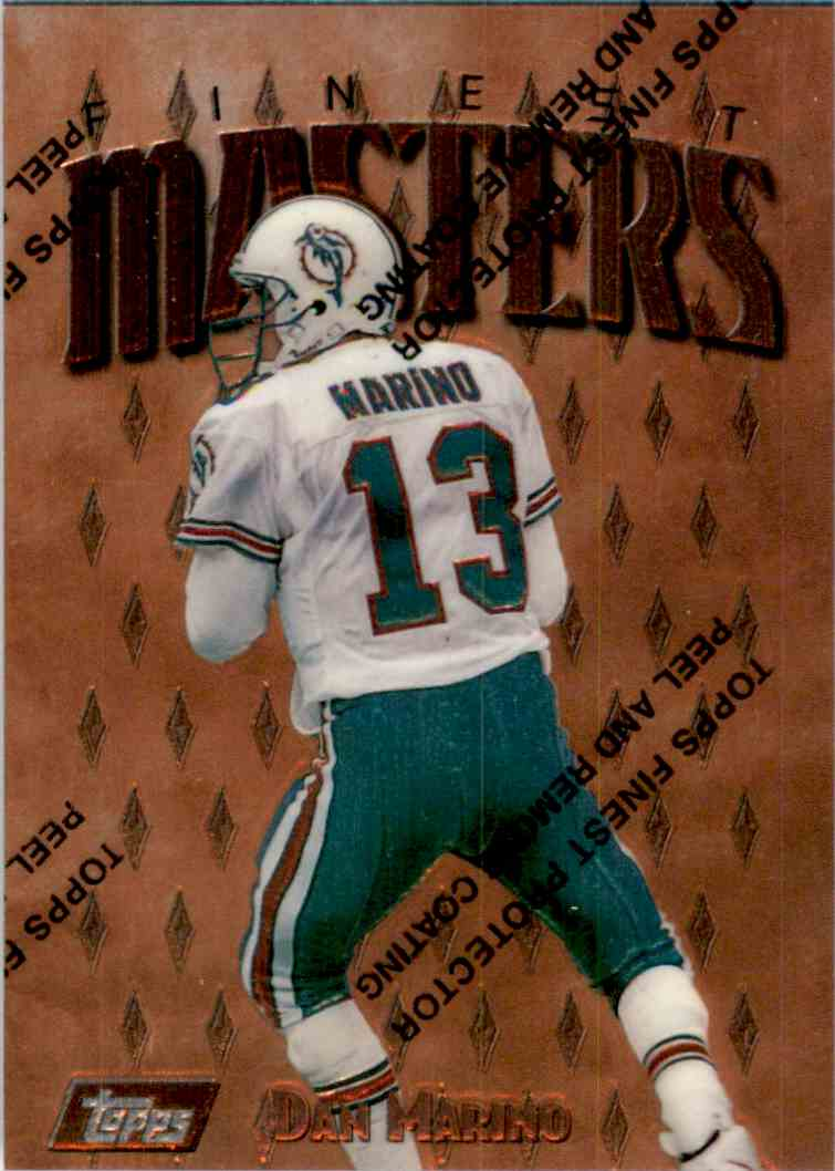 1997 Finest Dan Marino B #230 card front image