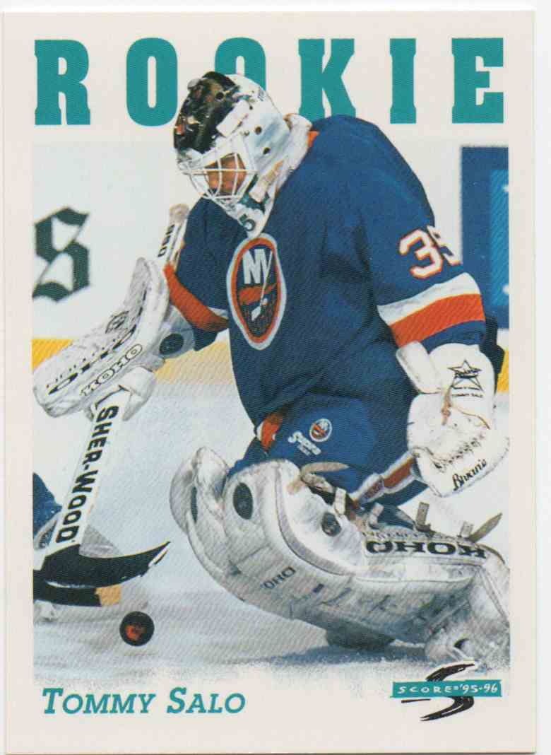 1995-96 Score Tommy Salo #314 card front image