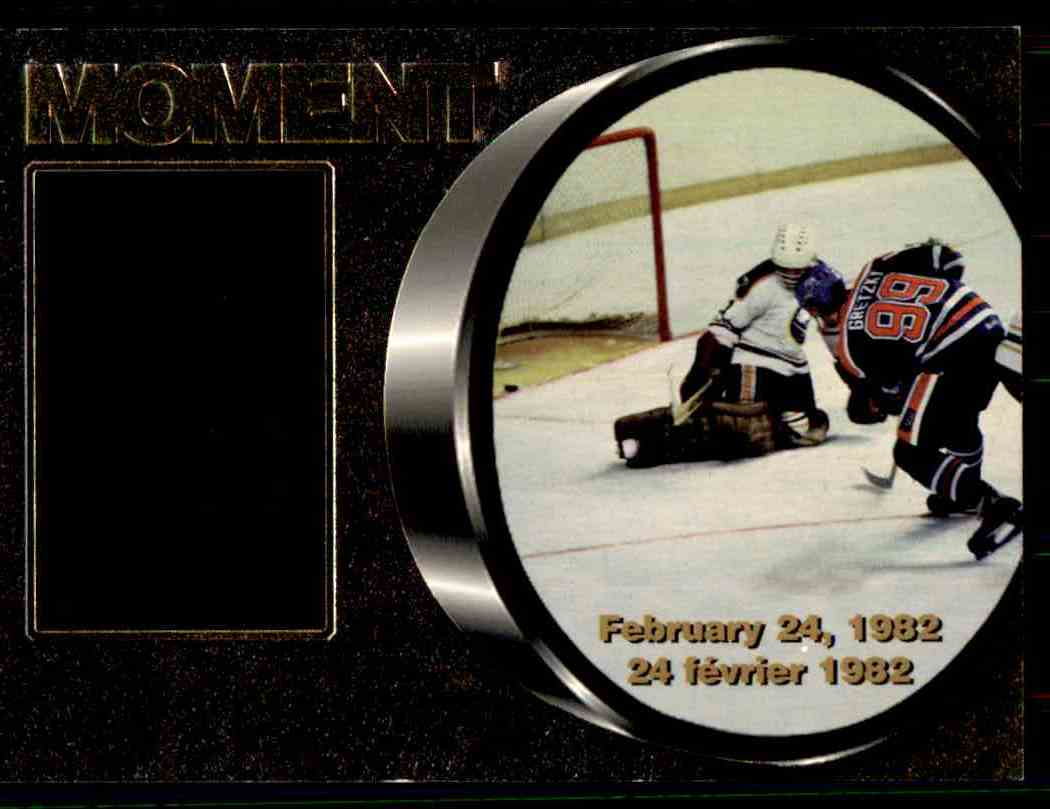 1998-99 McDonald's Upper Deck Gretzky's Moments Wayne Gretzky #M2 card front image