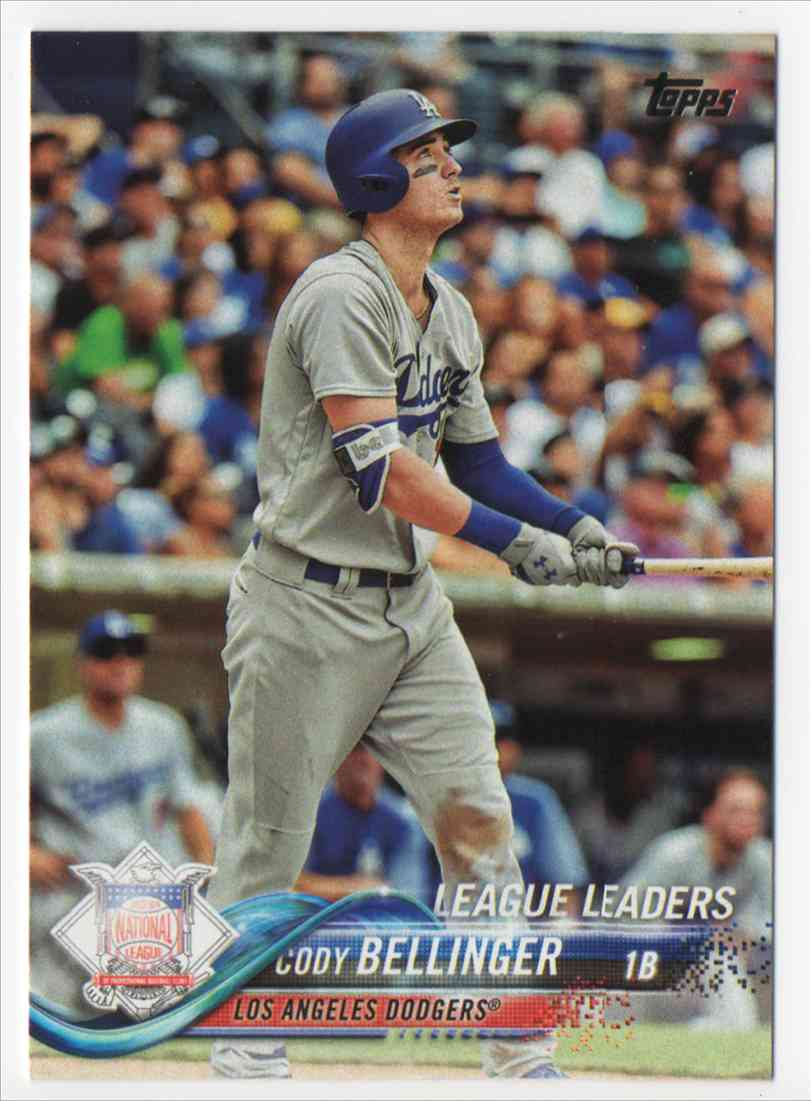2018 Topps Series 1 Cody Bellinger 114 On Kronozio