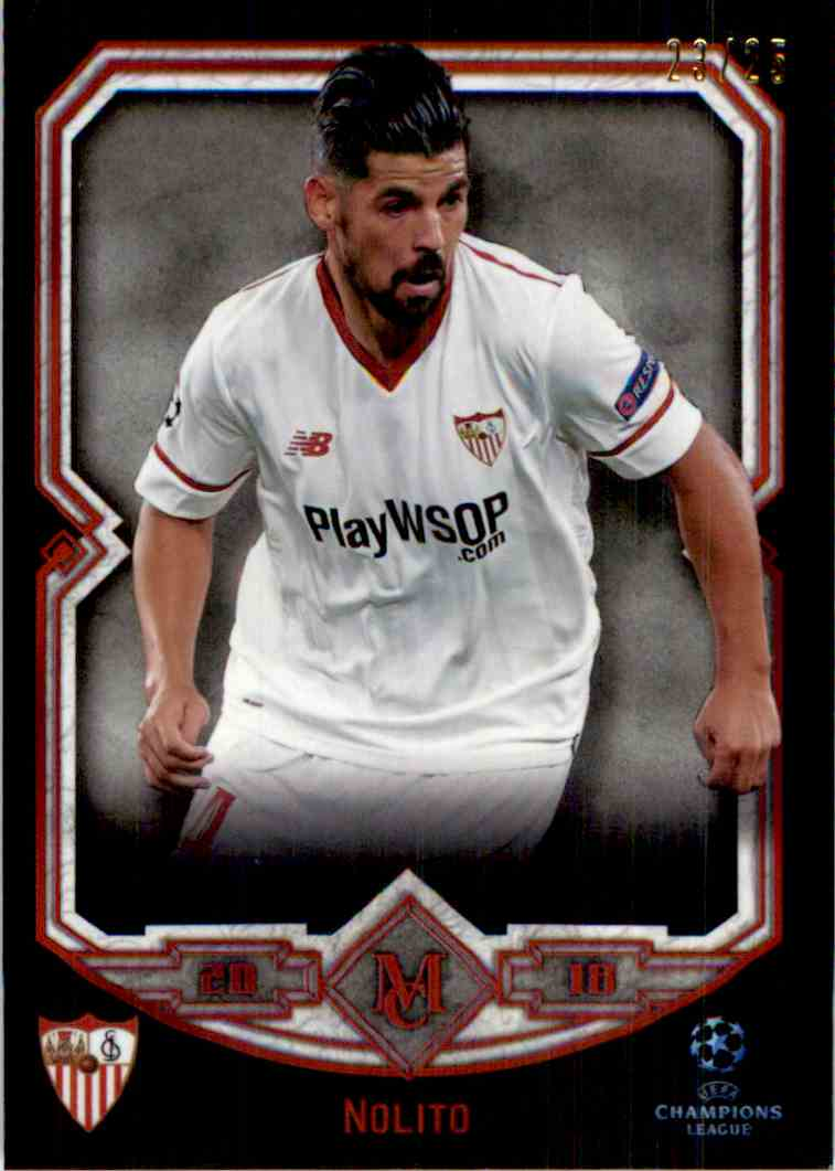 2017 Topps Uefa Champions League Ruby Nolito #78 card front image