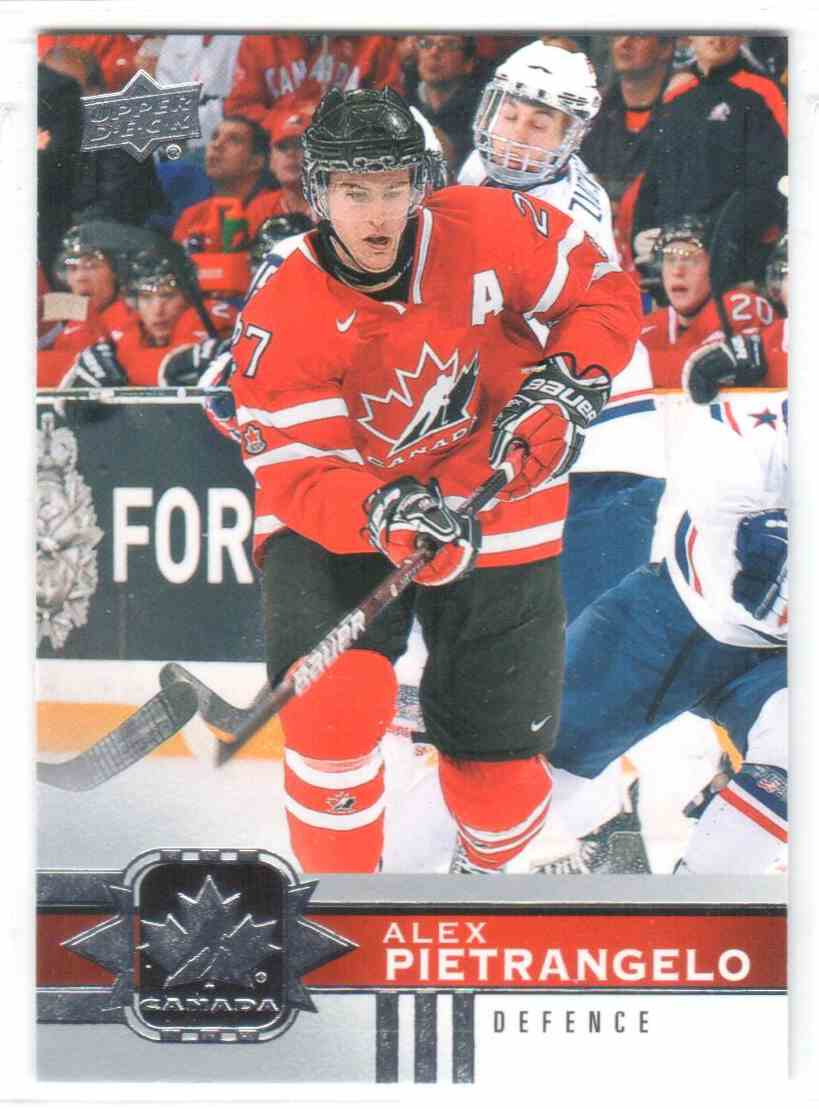 2017-18 Upper Deck Team Canada Canadian Tire Alex Pietrangelo #111 card front image