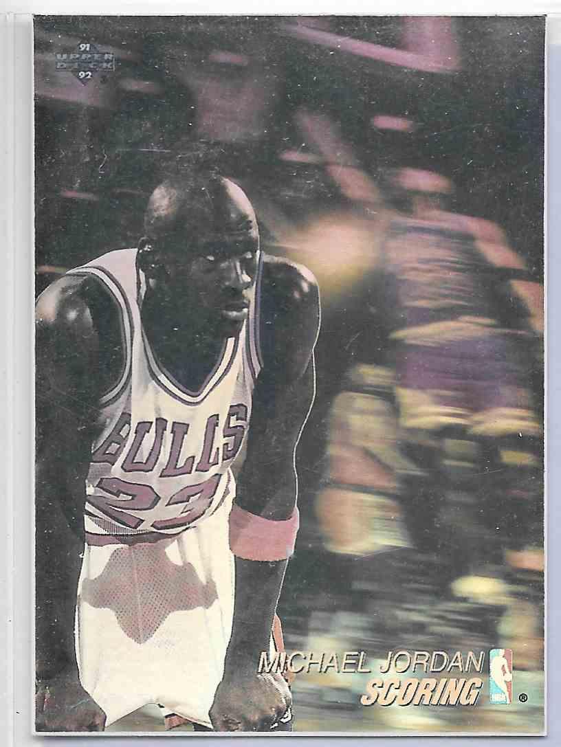 1992-93 Upper Deck Michael Jordan #AW1 card front image