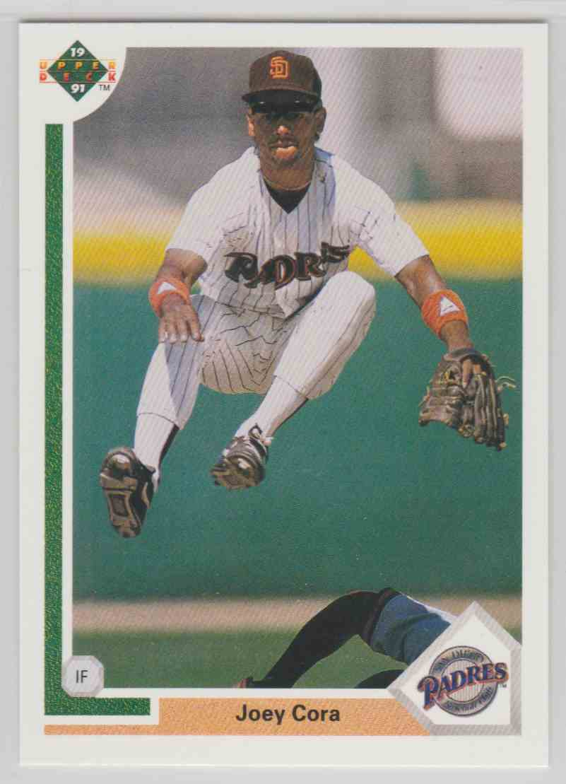1991 Upper Deck Joey Cora #291 card front image