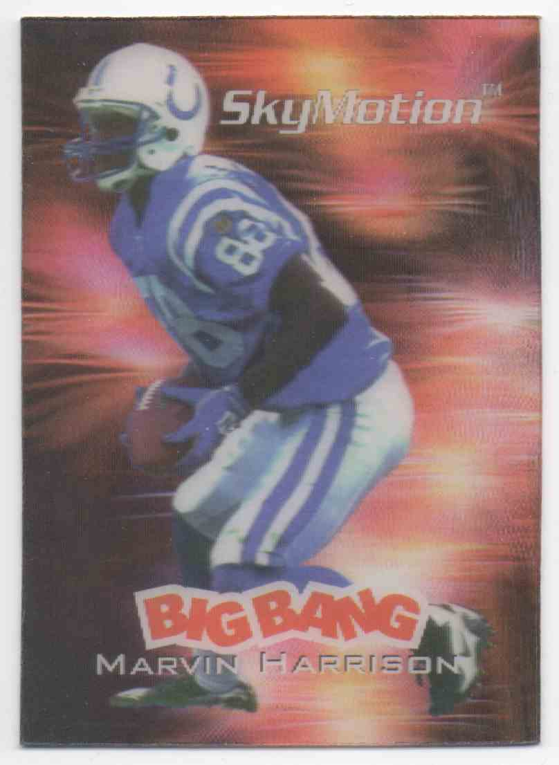 1996 Skybox SkyMotion Marvin Harrison #6 card front image