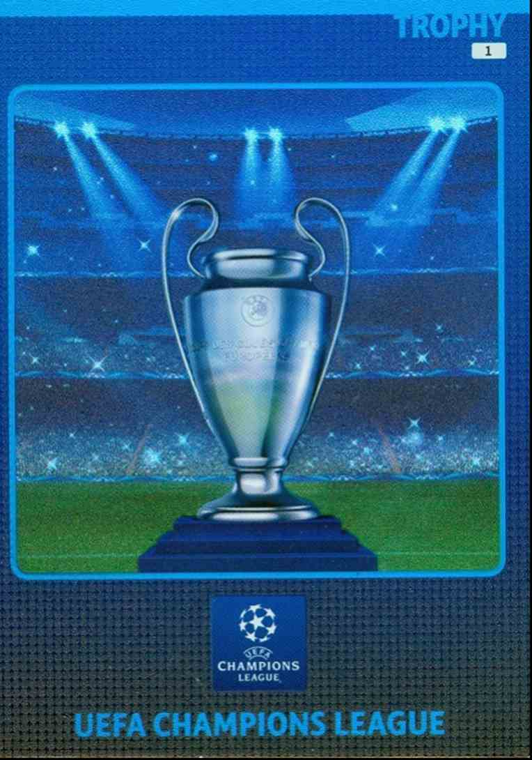 2014 Adrenalyn Xl Uefa Champions League Trophy 1