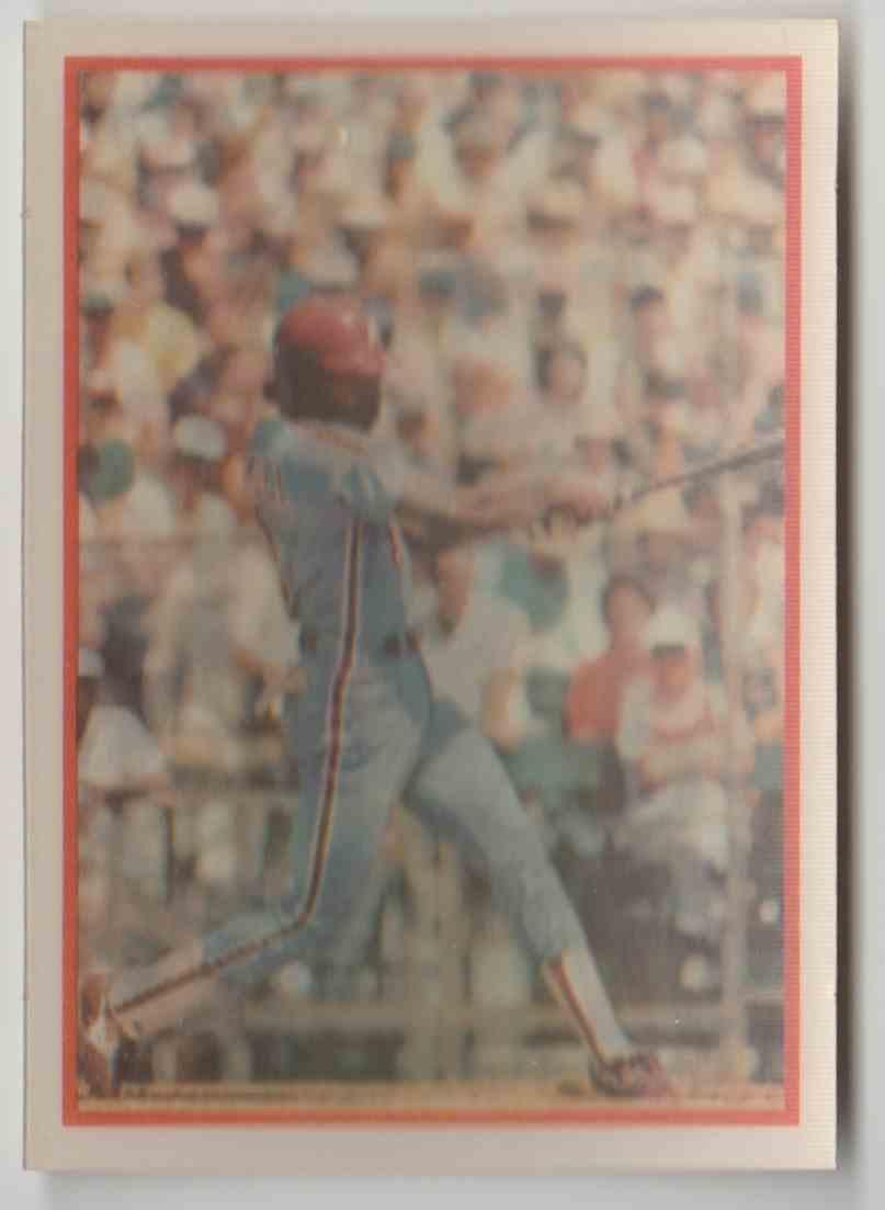 1987 Sportflics Juan Samuel 123 On Kronozio