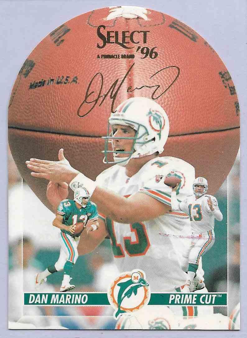 1996 Select Dan Marino #10 card front image