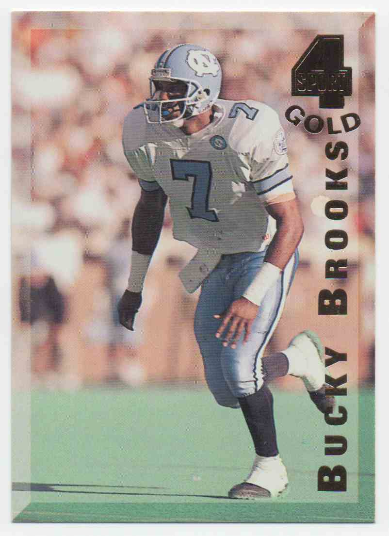 1994 Classic Four Sport Gold Bucky Brooks #95 card front image