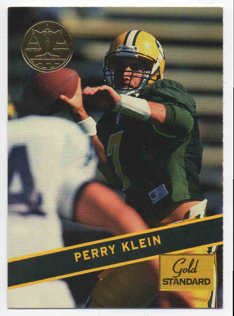 1994 Signature Rookies Gold Standard Perry Klein #40 card front image