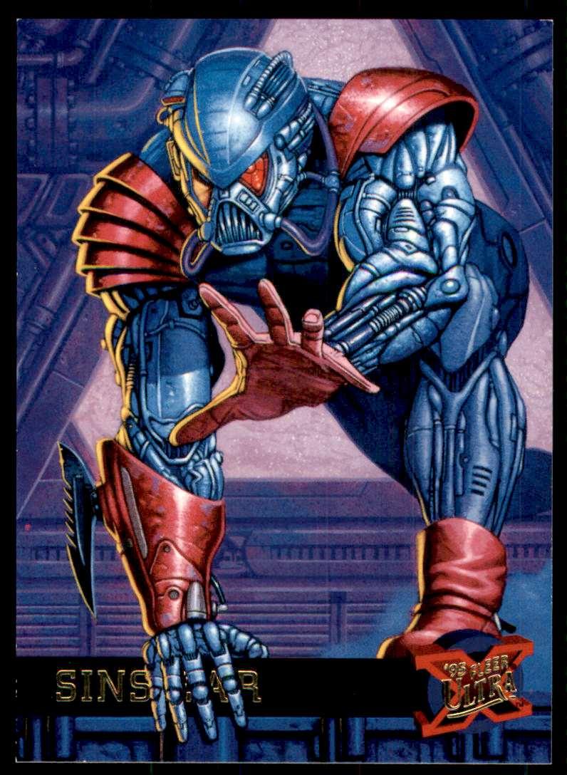 1995 X-Men Ultra Sinsear #46 card front image