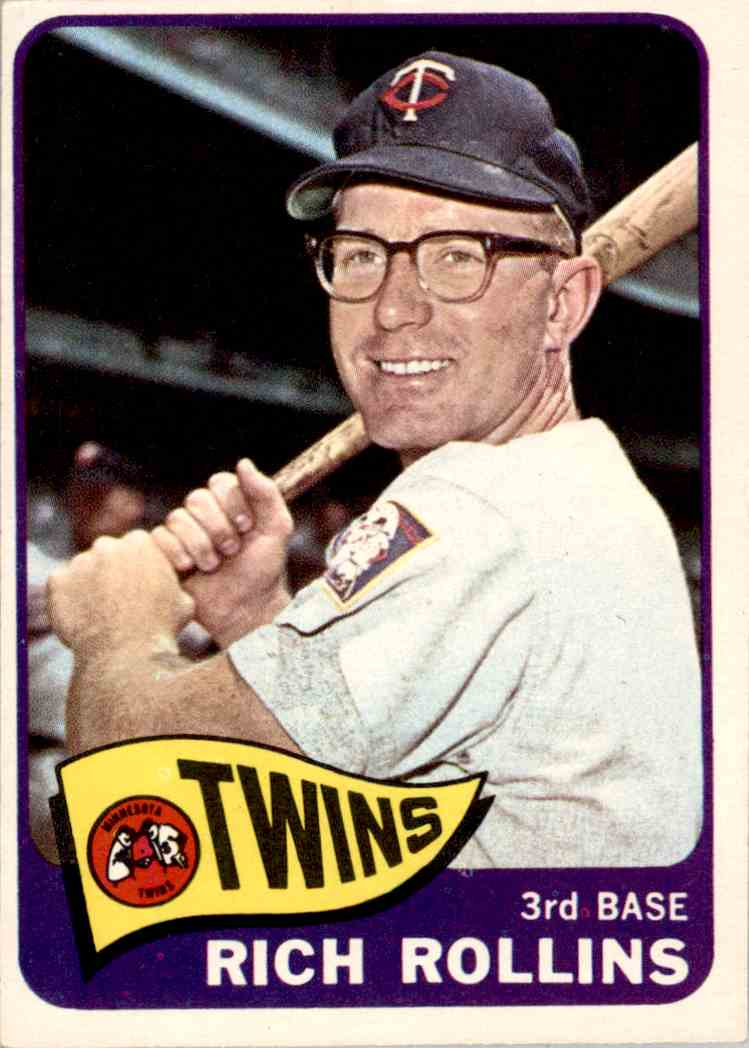 1965 Topps Rich Rollins #90 card front image