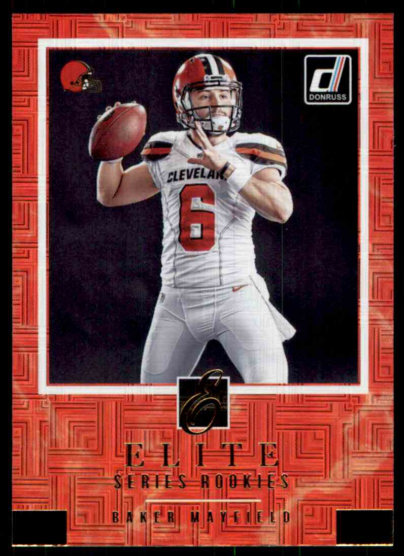 2018 Donruss Elite Series Baker Mayfield 3 On Kronozio