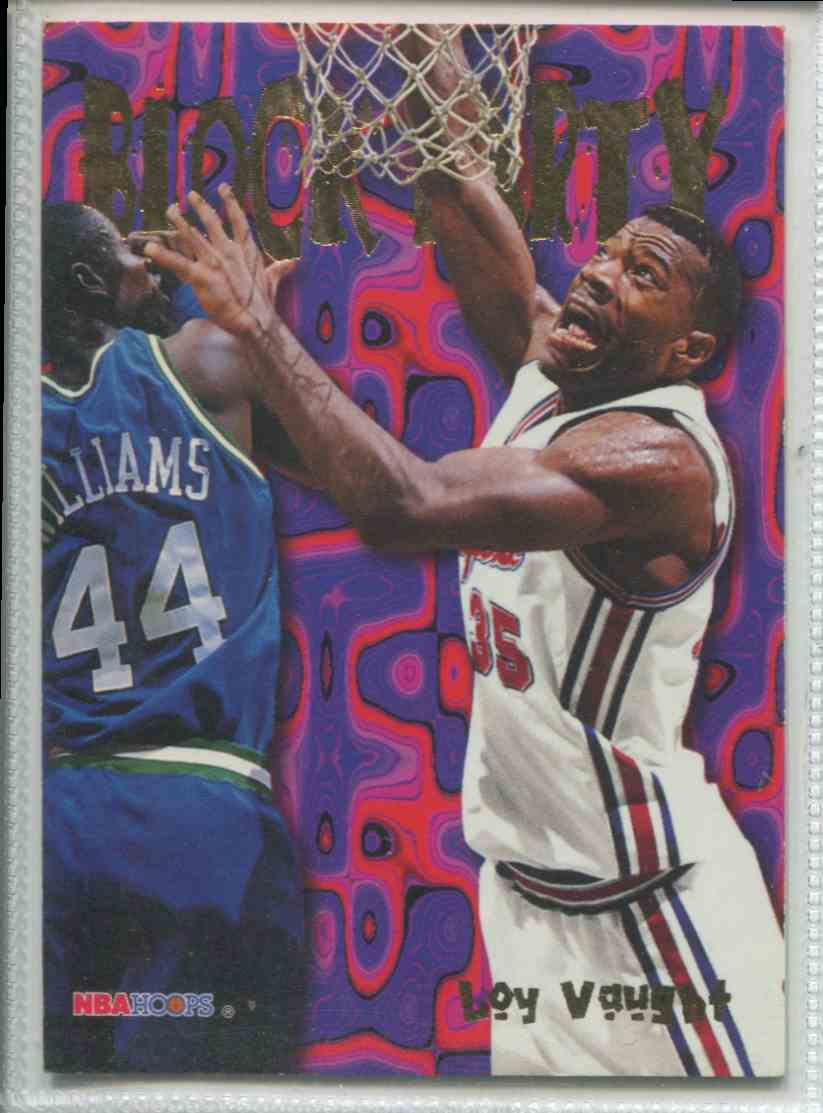 2 NBA Hoops Block Party trading cards for sale