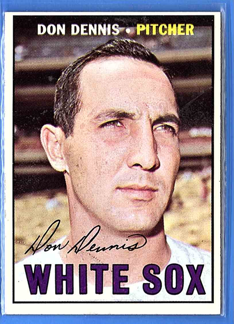 1967 Topps Don Dennis #259 card front image
