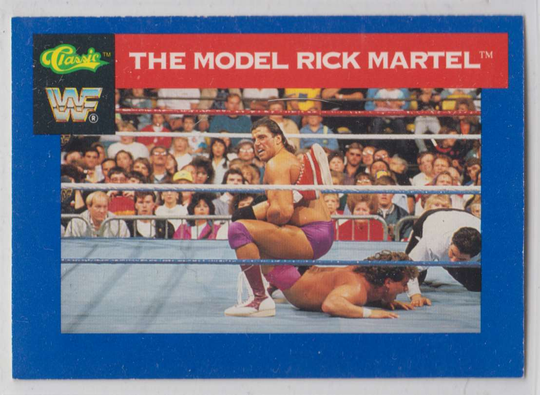 1991 Classic WWF Superstars The Model Ricky Martel #128 card front image