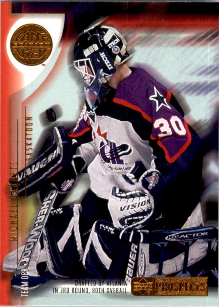 2001-02 UD Prospects Michael Garnett #21 card front image