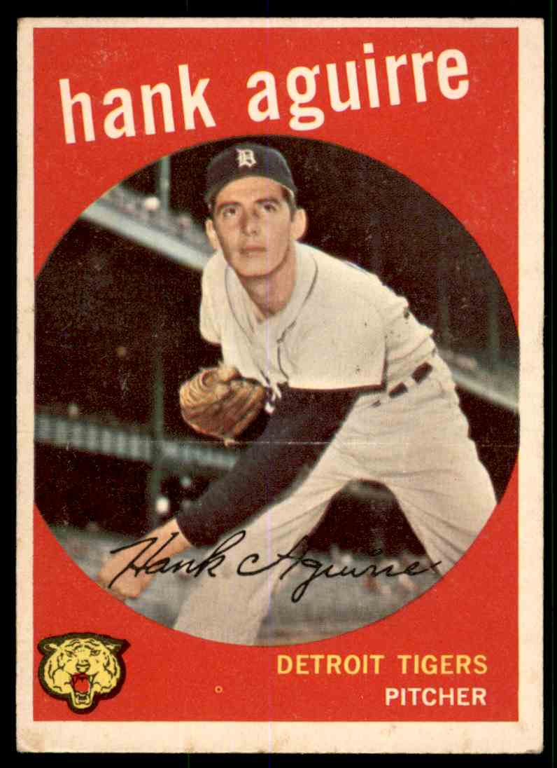 1959 Topps Hank Aguirre #36 card front image