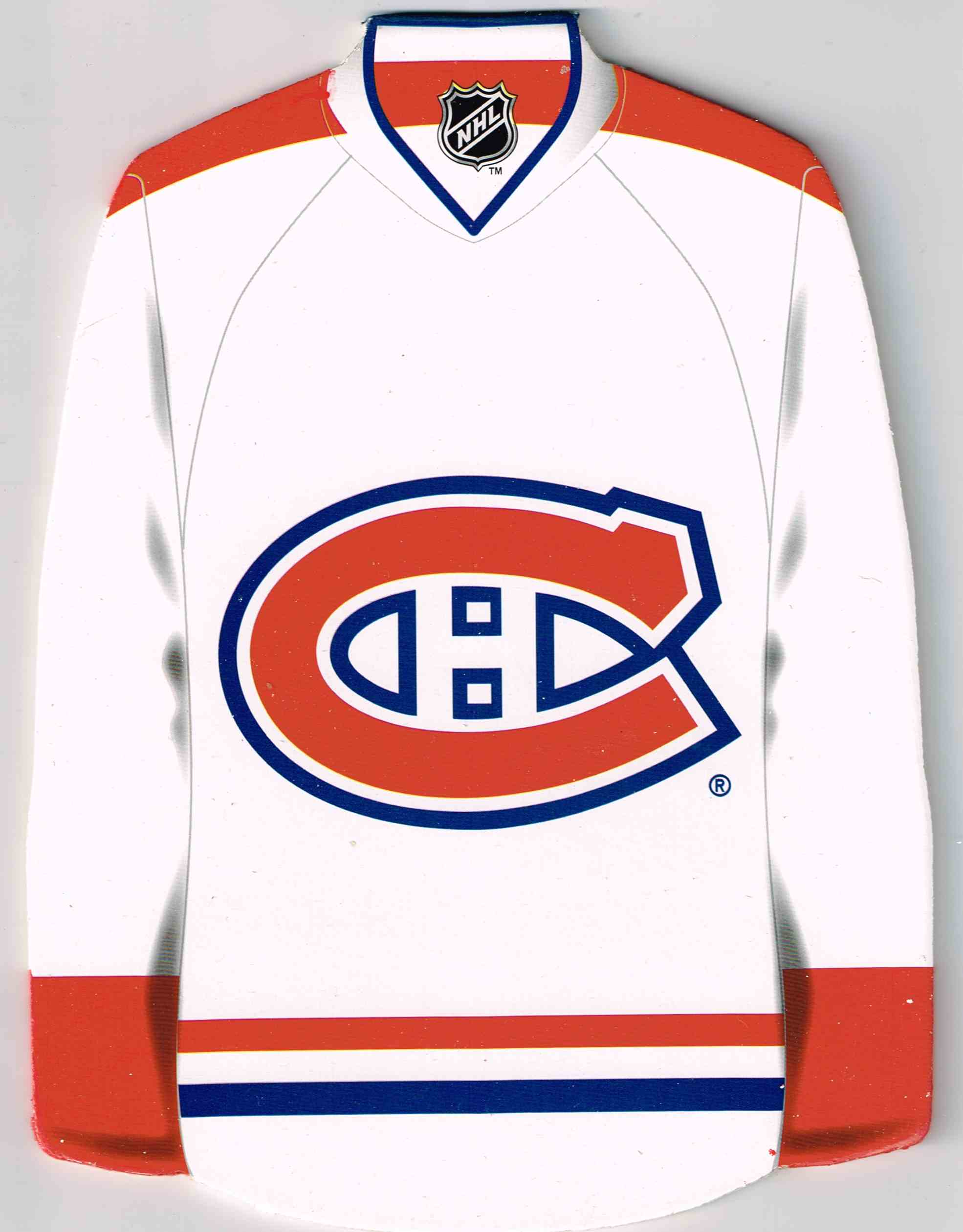 eec2e0931 2013-14 NHL Montreal Canadiens Plaque White Jersey Canadien Plaque White  Jersey  8.3