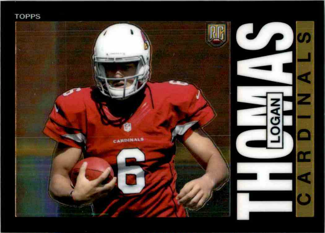 2014 Topps Chrome 1985 Logan Thomas #24 card front image
