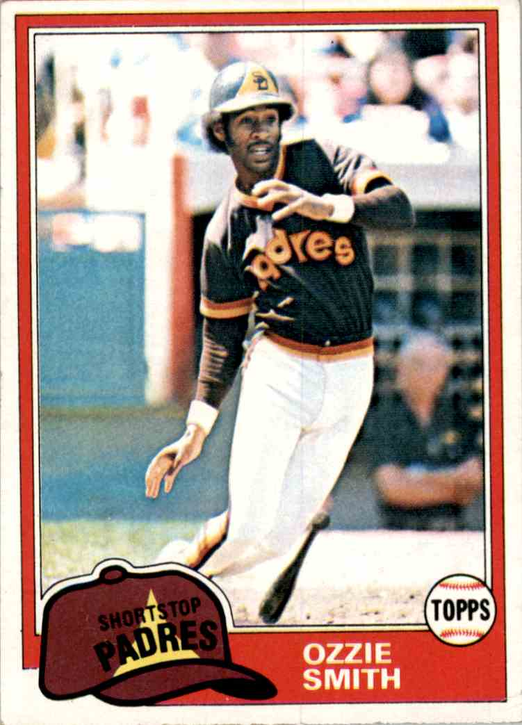 1981 Topps Ozzie Smith #254 card front image
