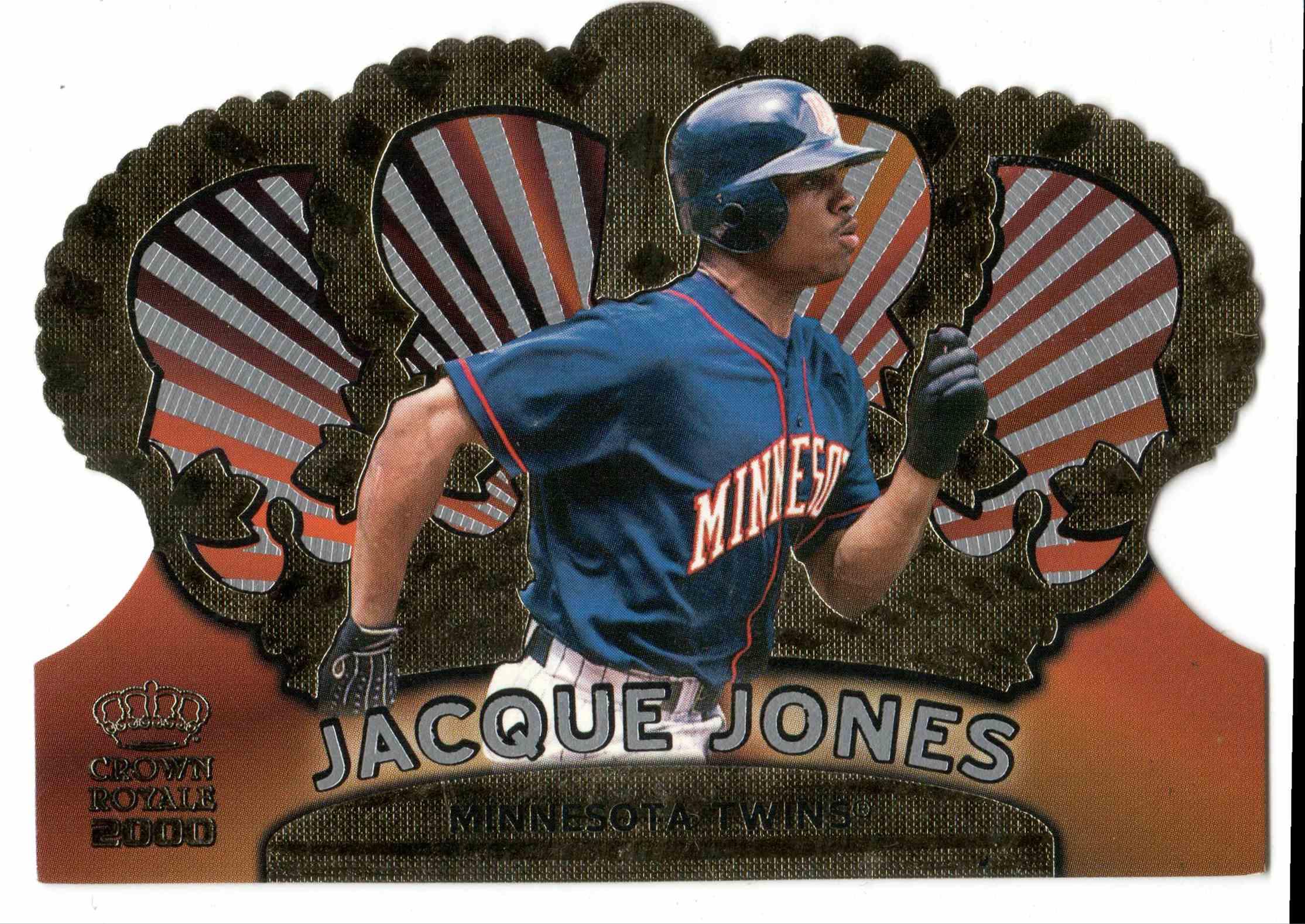 2000 Pacific Crown Royale Jacque Jones #78 card front image