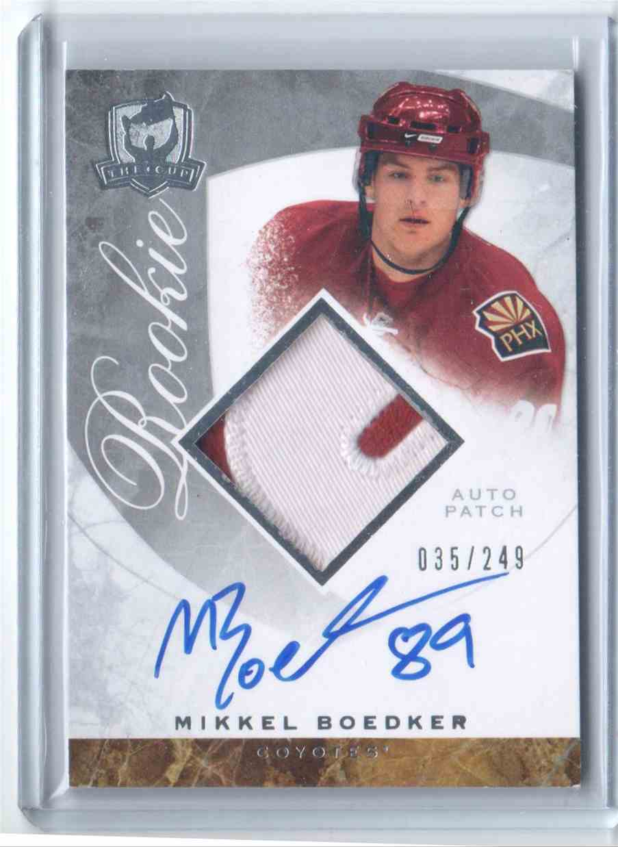 2008-09 Upper Deck The Cup Mikkel Boedker #130 card front image
