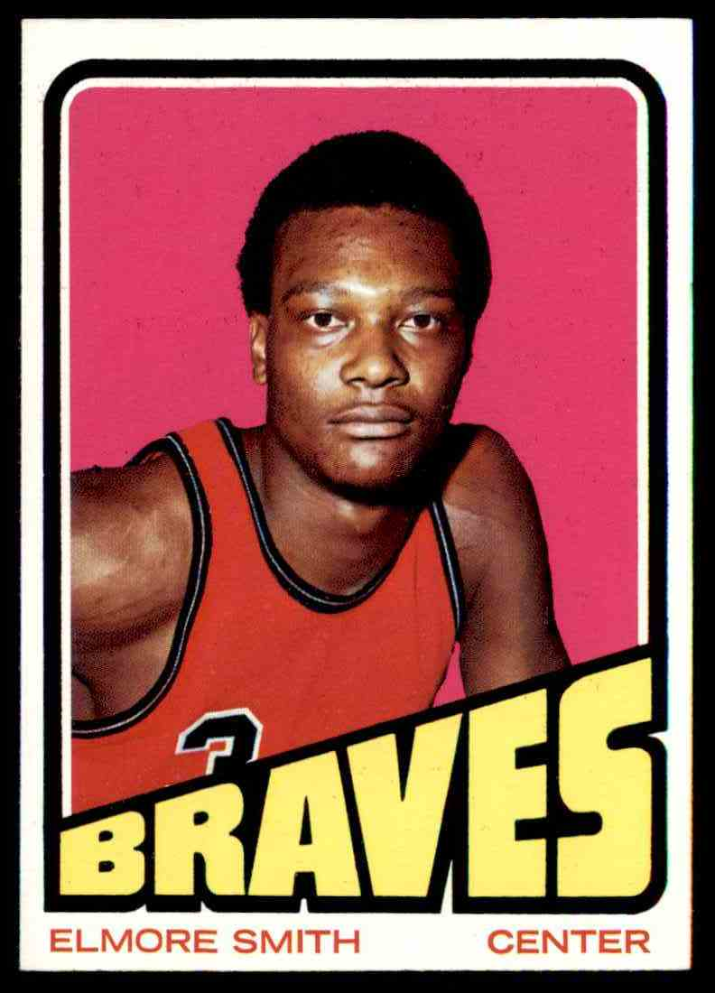 1972-73 Topps Elmore Smith #76 card front image