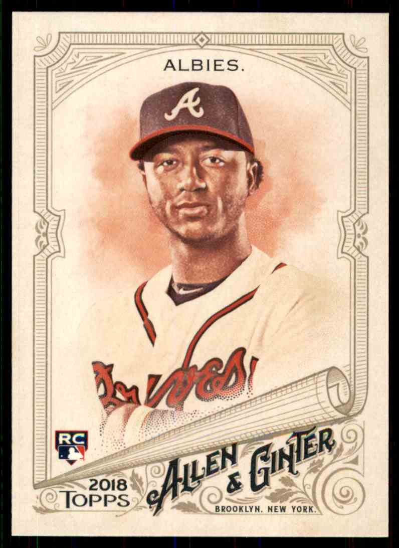 2018 Topps Allen & Ginter Ozzie Albies #116 card front image