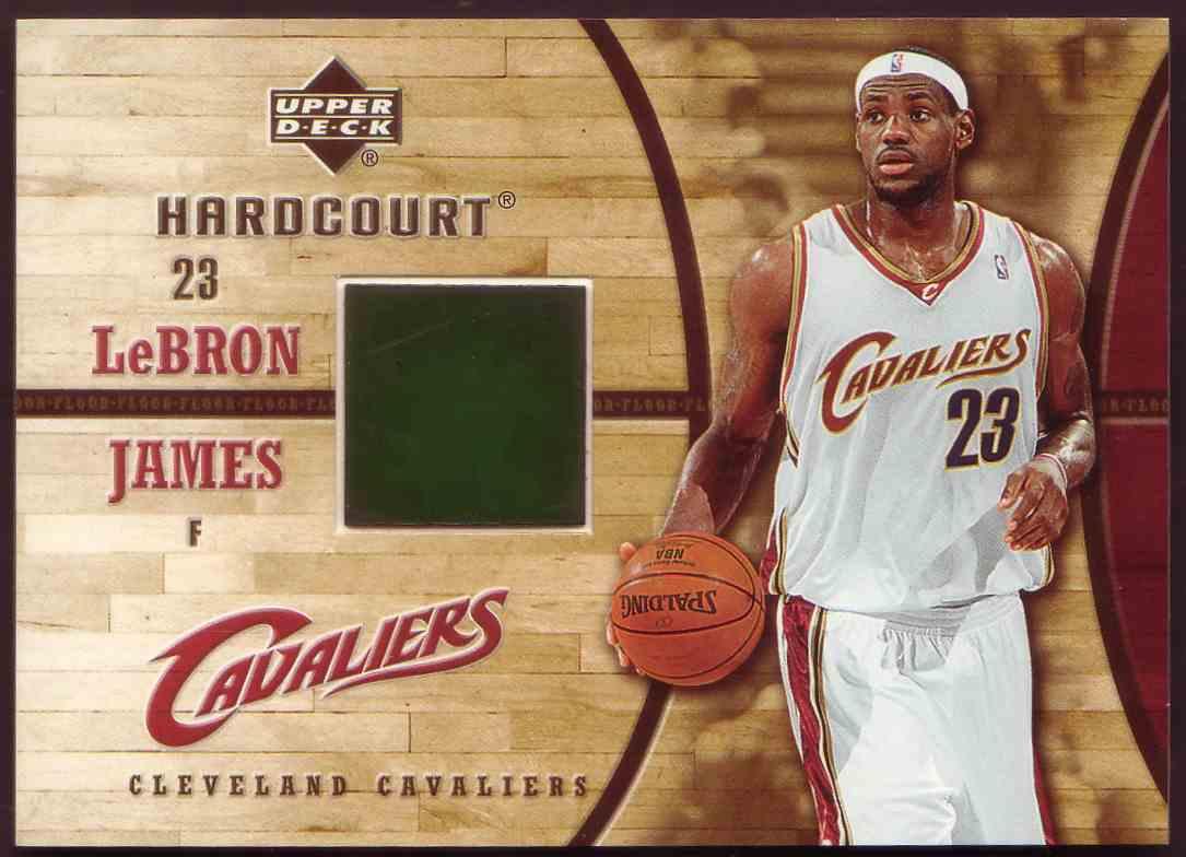 2006-07 Upper Deck Hardcourt LeBron James Floor LeBron James #GF-17 card front image