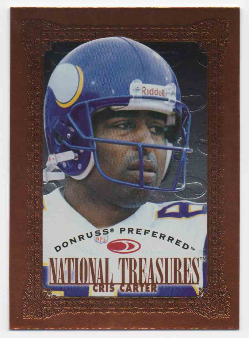 1997 Donruss Preferred Cris Carter #143 card front image