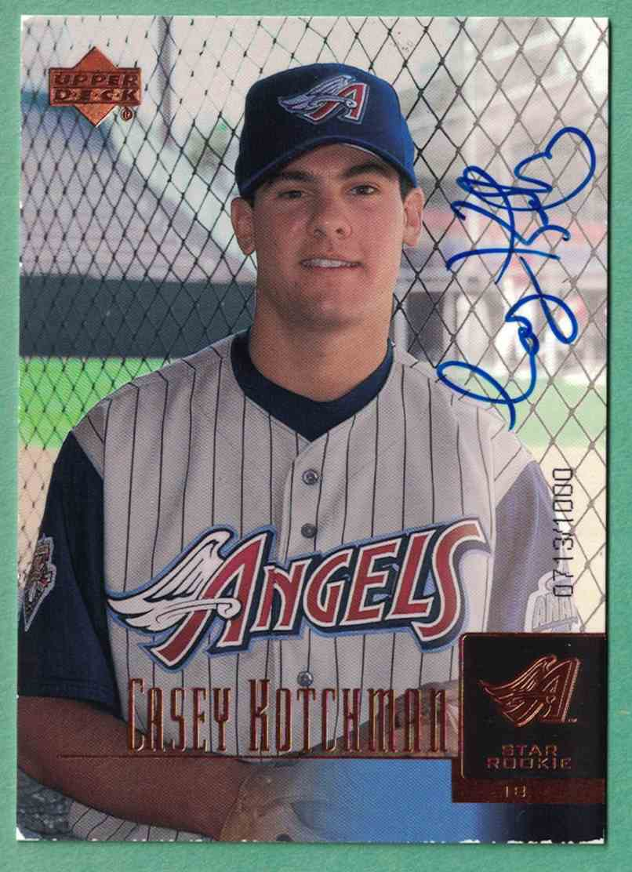 2001 Upper Deck ProspUpper Deck Propect Premieres Casey Kotchman - Autographed Signed /1000 EX #96 card front image