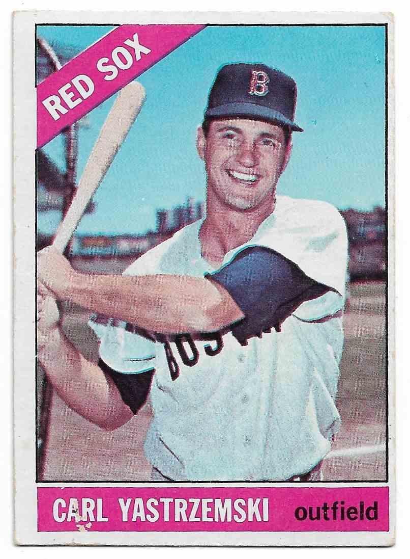 1966 Topps Carl Yastrzemski #70 card front image