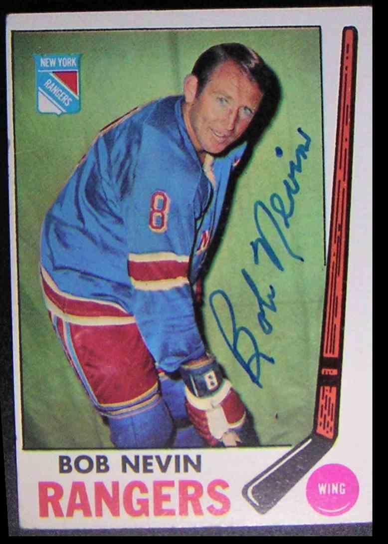 1969-70 O-Pee-Chee Bob Nevin #40 card front image