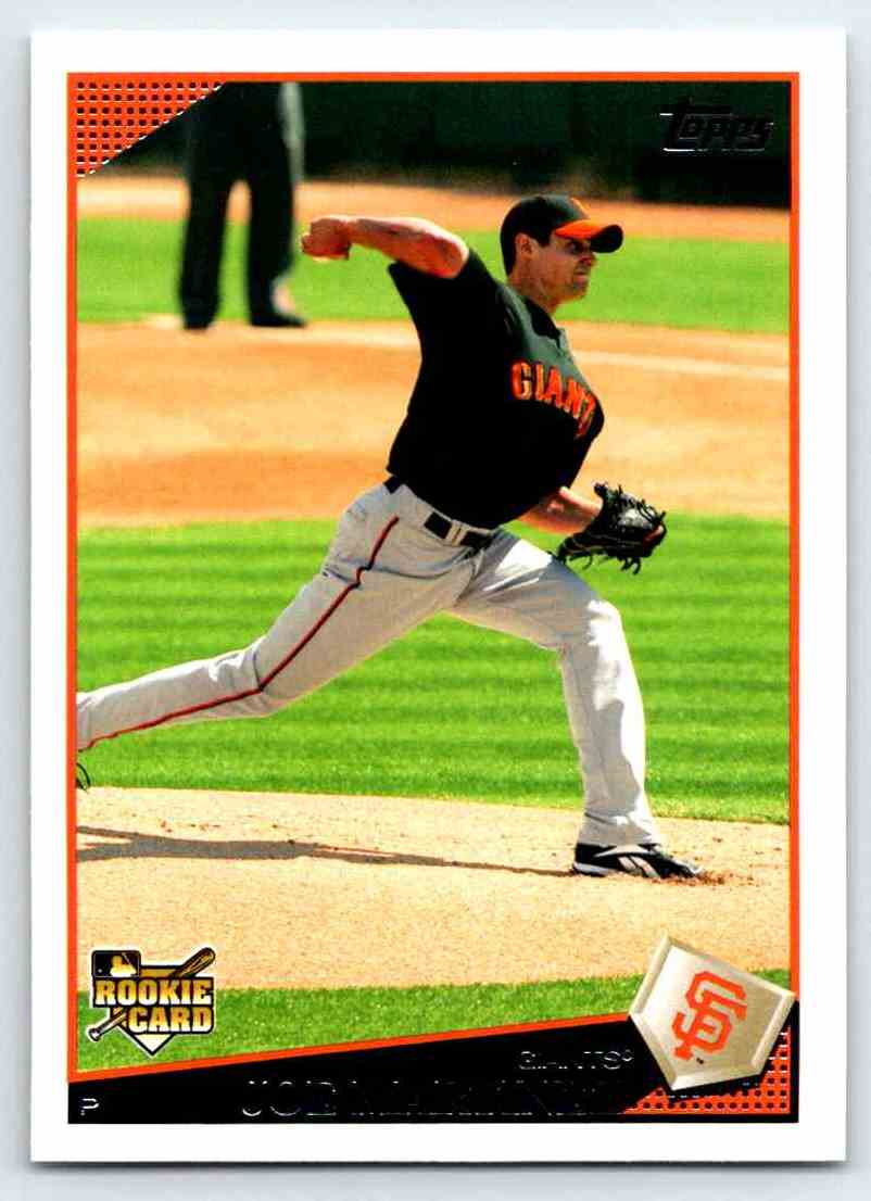 2009 Topps Joe Martinez #373 card front image