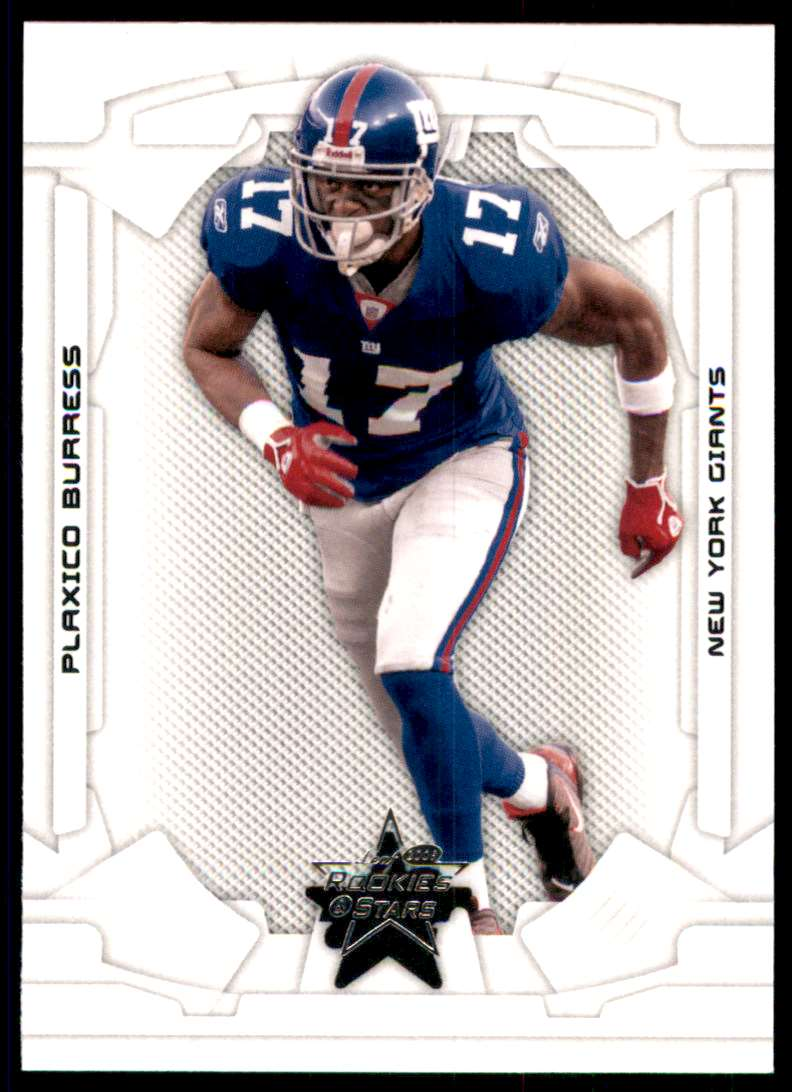 2008 Leaf Rookies And Stars Plaxico Burress #64 card front image
