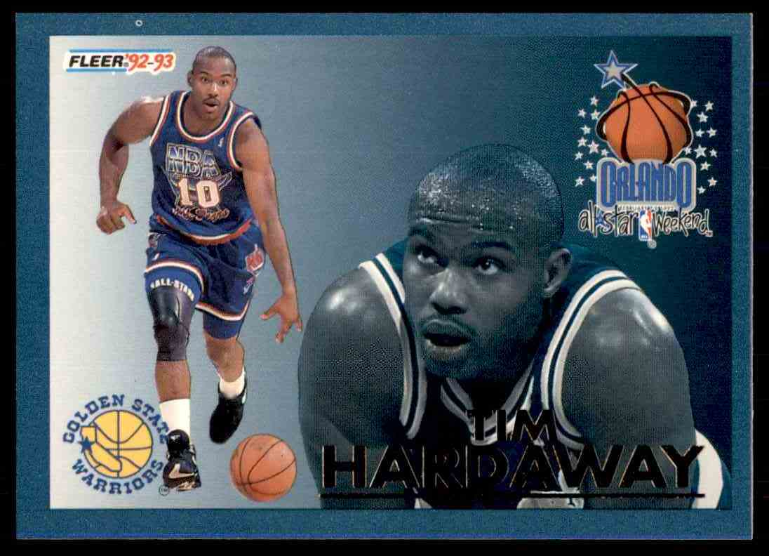 1992 93 Fleer Orlando All Star Weekend Tim Hardaway 14 Card Front Image