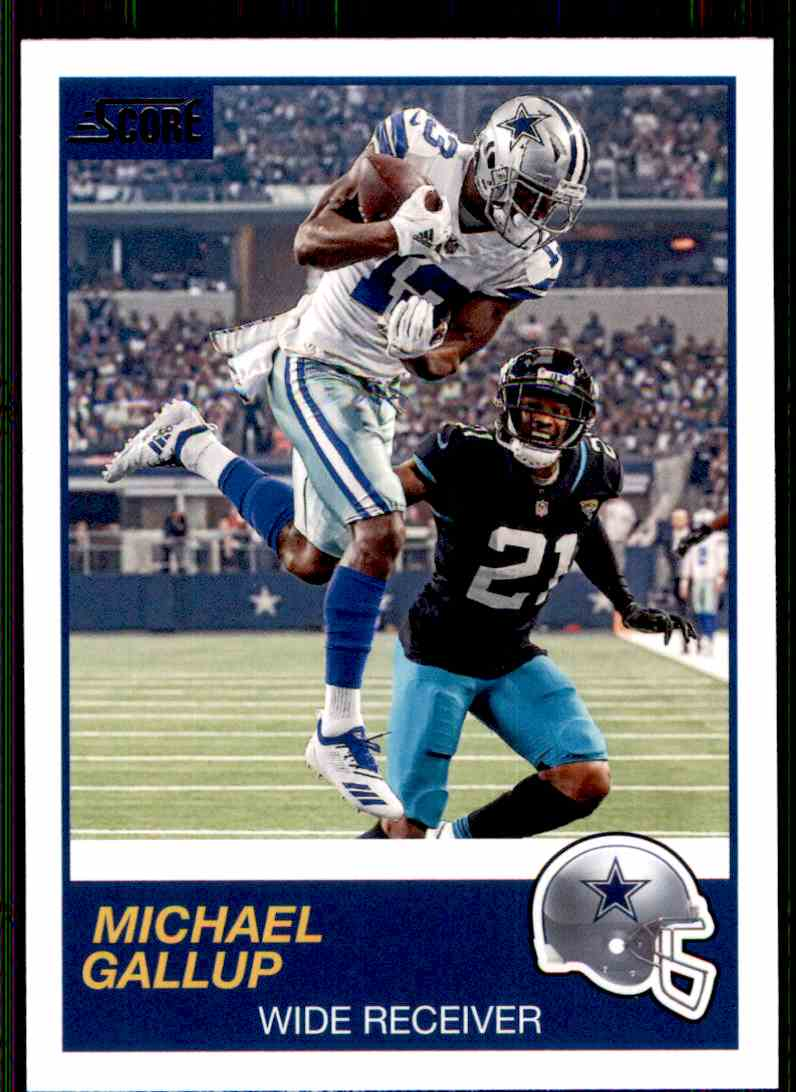 2019 Score Michael Gallup #169 card front image