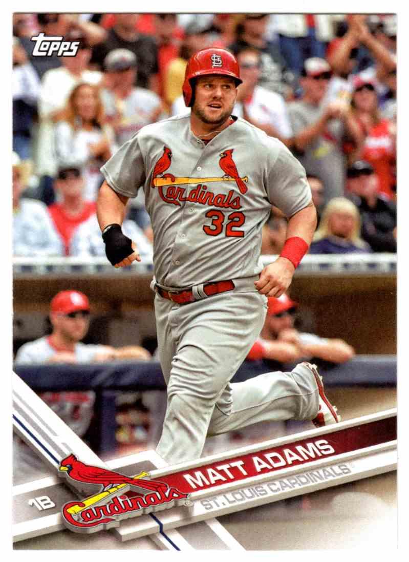 23 Matt Adams St Louis Cardinals Trading Cards For Sale