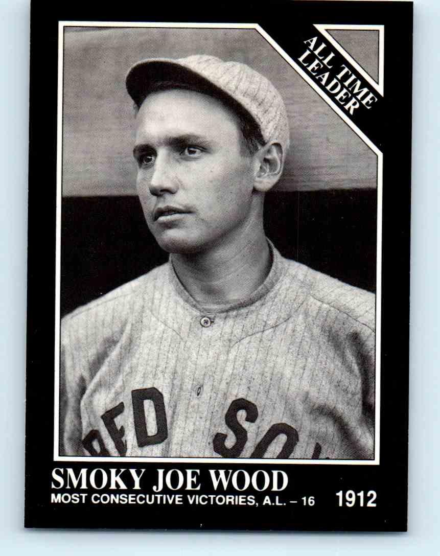 1992 Megacards Conlon Collection Smoky Joe Wood 254