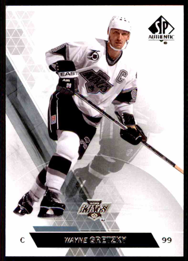 2013-14 SP Authentic Wayne Gretzky #50 card front image