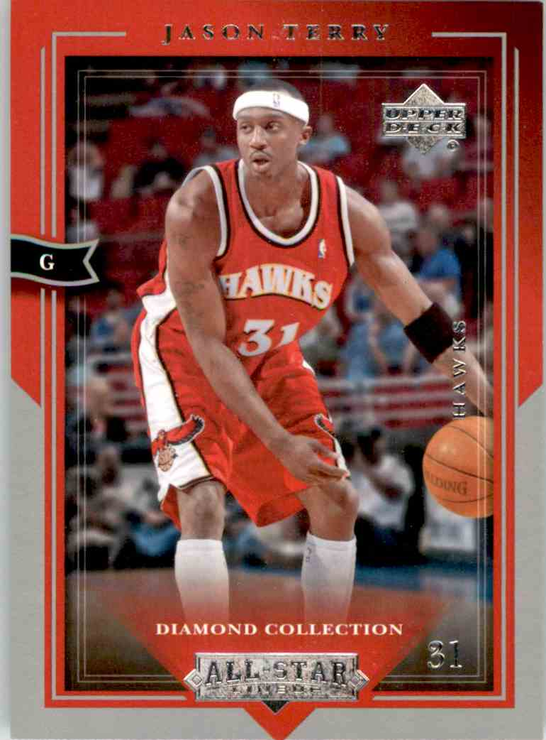 2004-05 Upper Deck All-Star Lineup Jason Terry #1 card front image