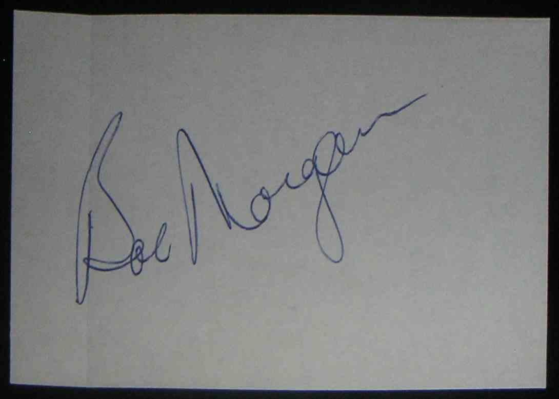 1950 Small Album Pg Bobby Morgan card front image